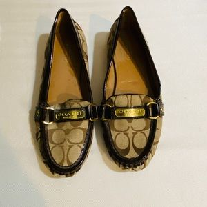 Coach monogram Felisha flats